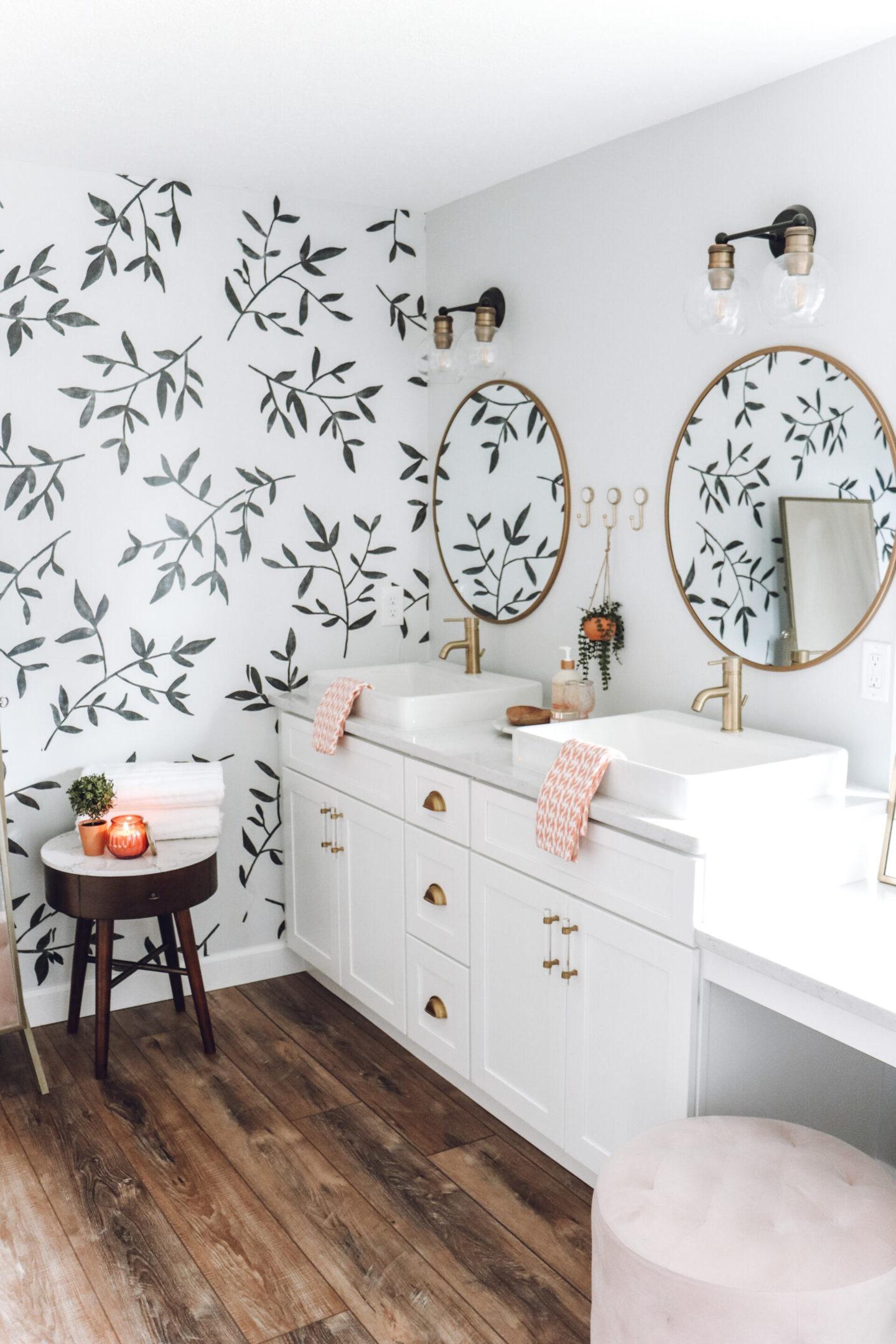double sink vanity Master Bathroom Remodel