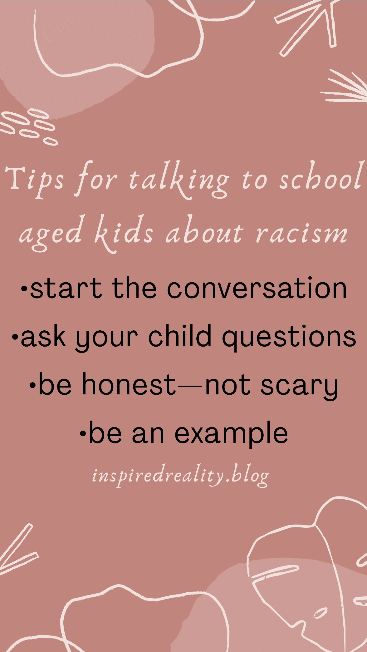 how to talk to your children about racism