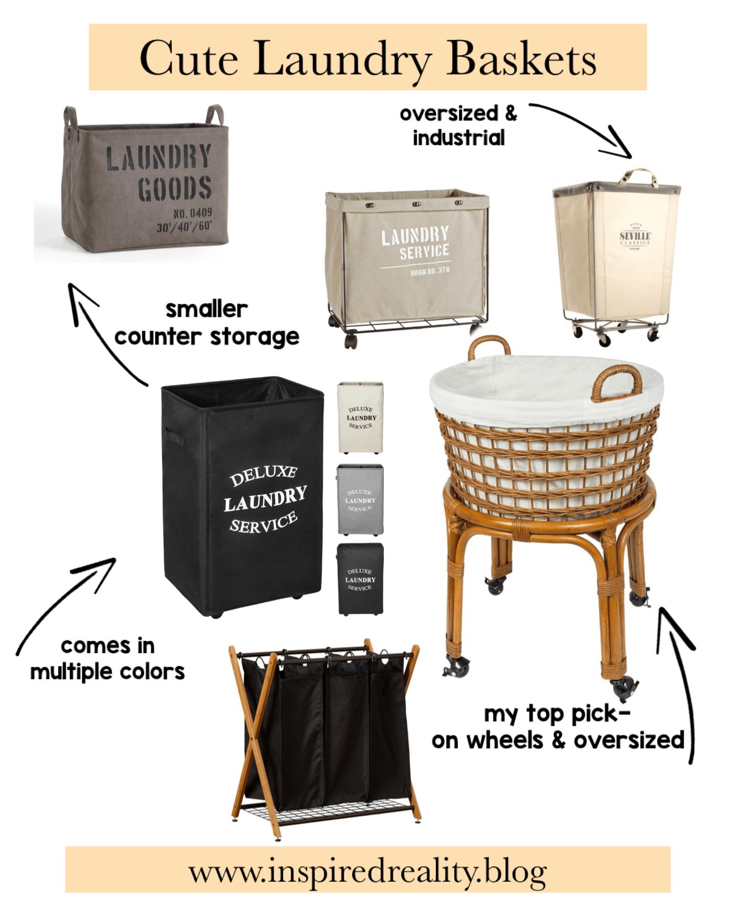 cute laundry baskets