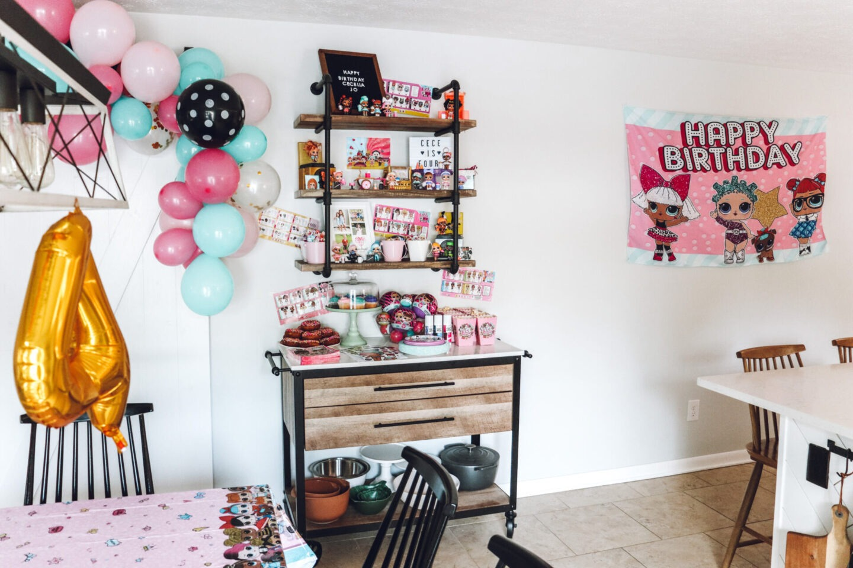 LOL Doll Birthday party