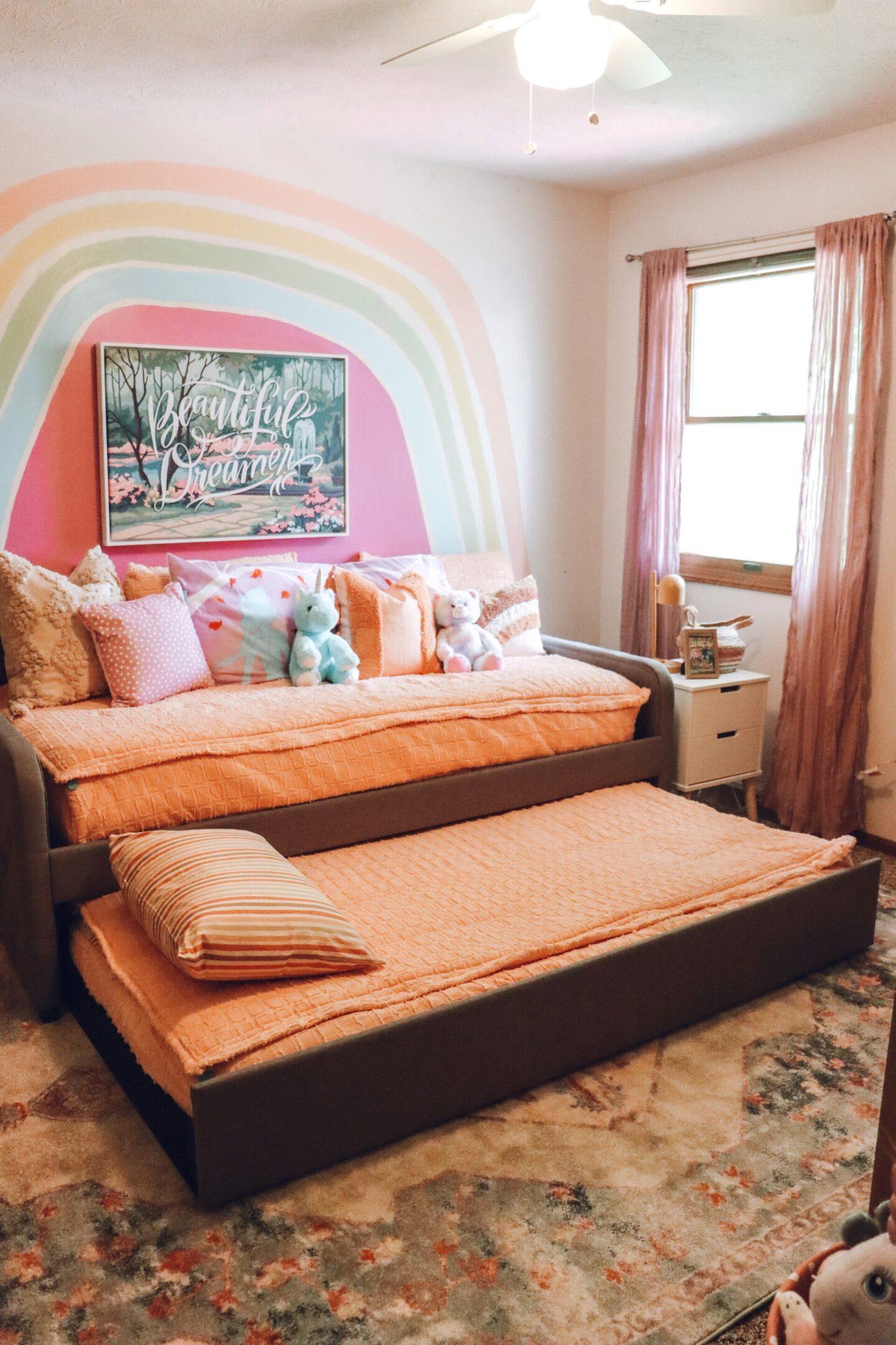 shared toddler girl bedroom
