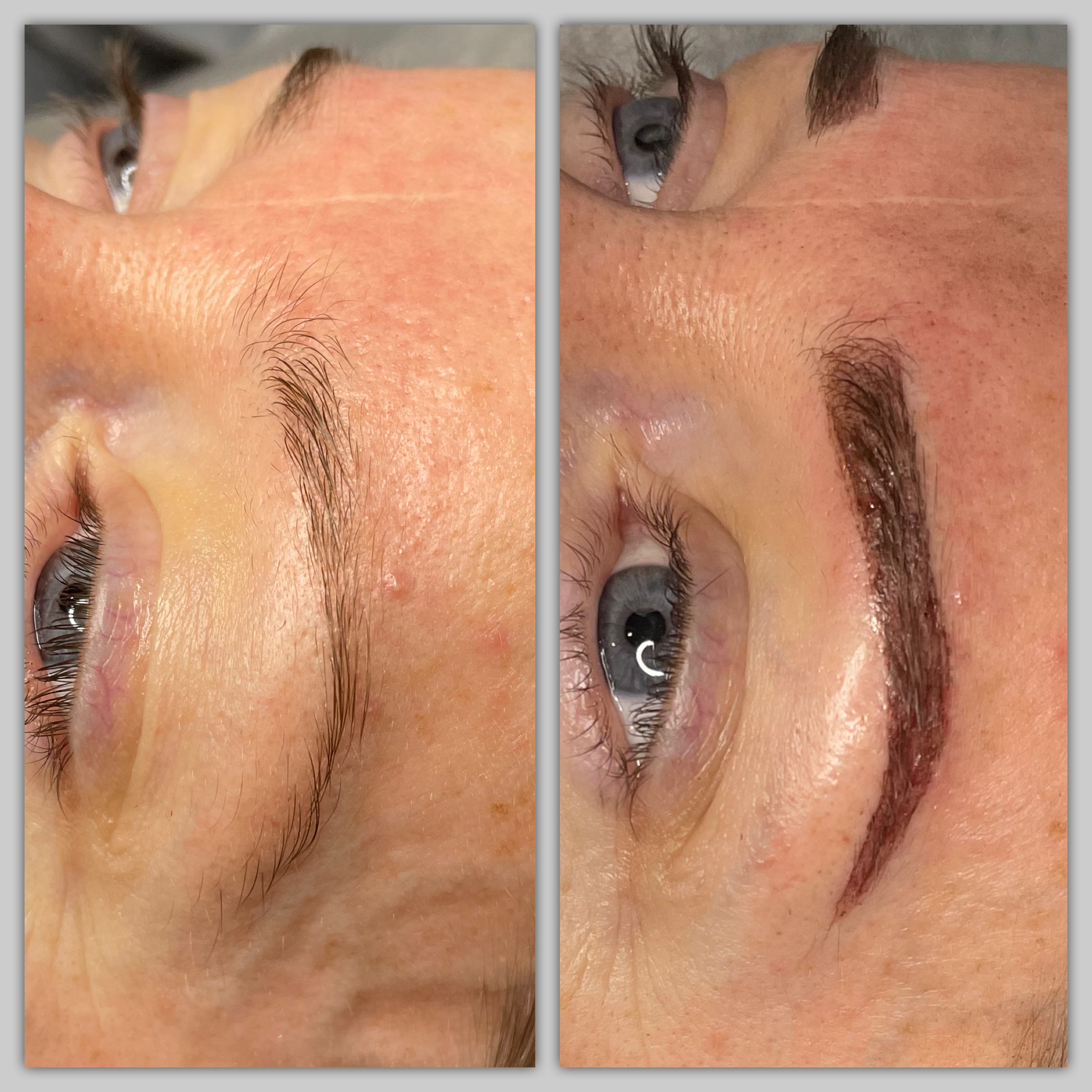 Cosmetic tattoo Ombre brows