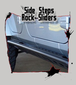 side steps and rock sliders