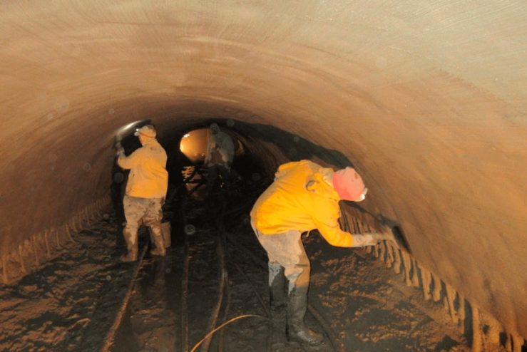 large culvert and tunnel repair