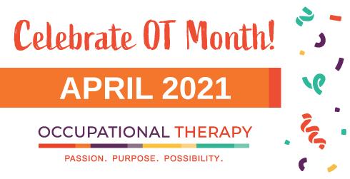 celebrate OT month graphic