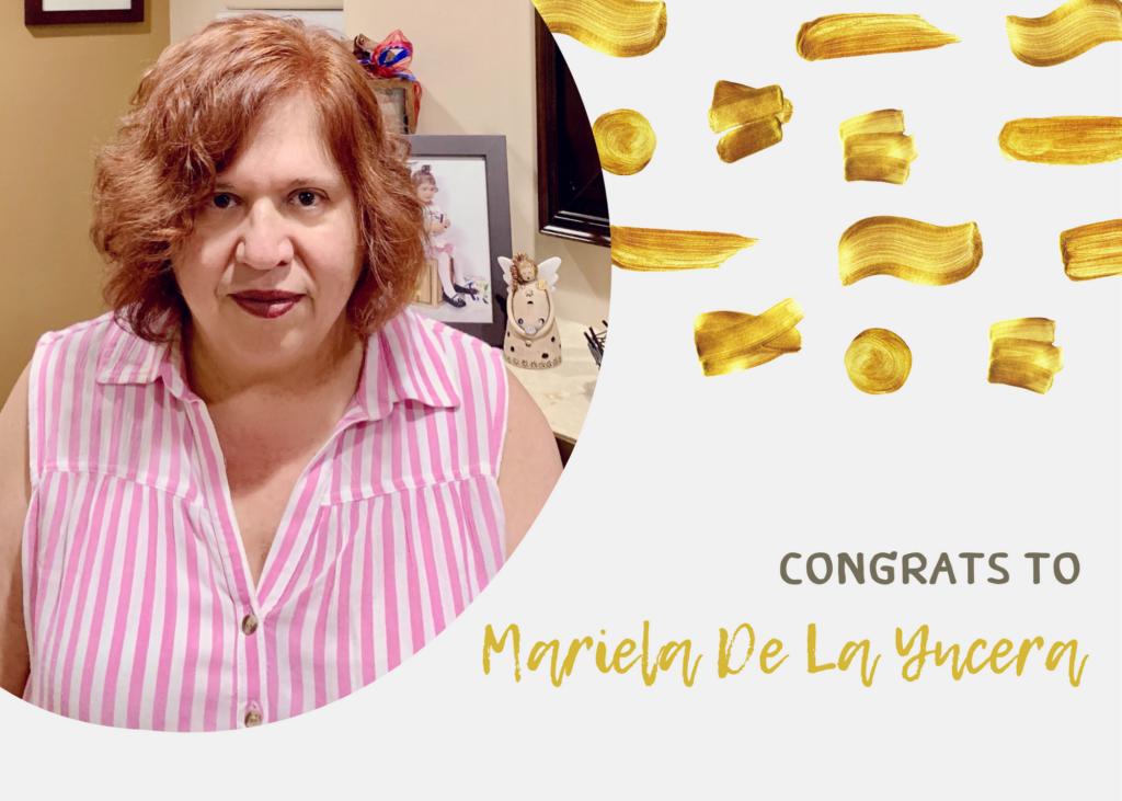Please congratulate Mariela De laYncera on her promotion to Wraparound Director!