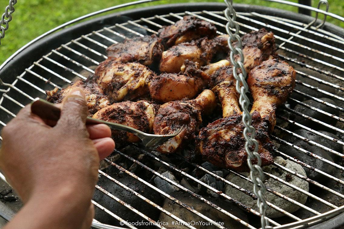 Kid-Friendly West African Jerk Chicken