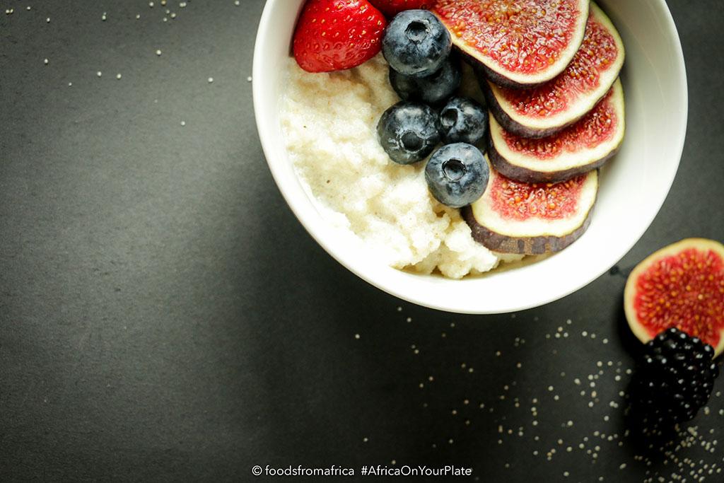 Acha (Fonio) Breakfast Porrdidge Bowl
