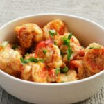 Pan-fried Chilli and Honey Prawns