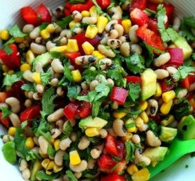 Black-eyed-bean-and-sweet-corn-salsa
