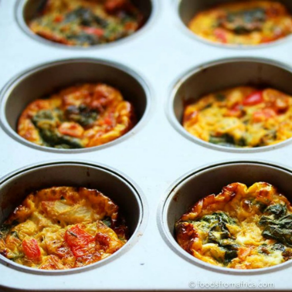 baked-egg-spinach-muffins