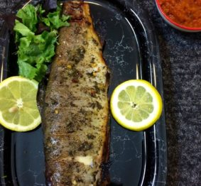 honey-thyme-grilled-trout