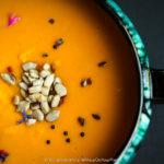 Mozambican Roasted Squash & Sweet Potato Soup