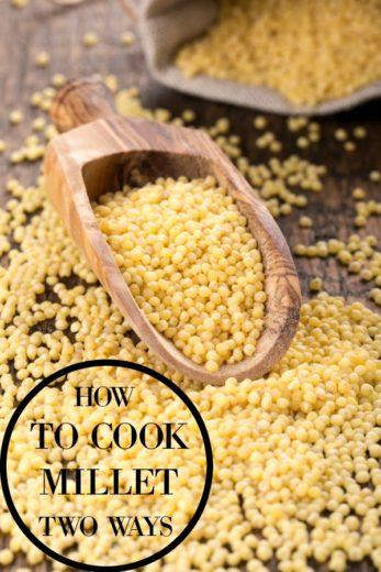 how to cook millet - foods from africa
