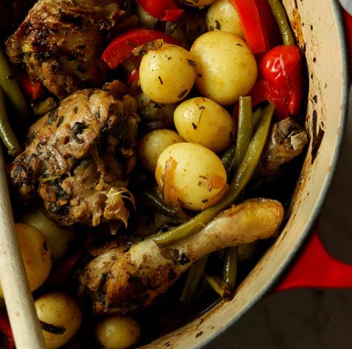 one-pot-chicken-potatoes