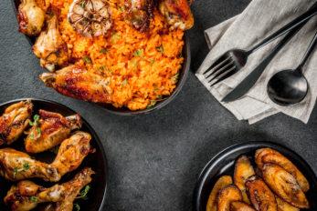 Jollof-rice-plantain-afro-fusion-cuisine