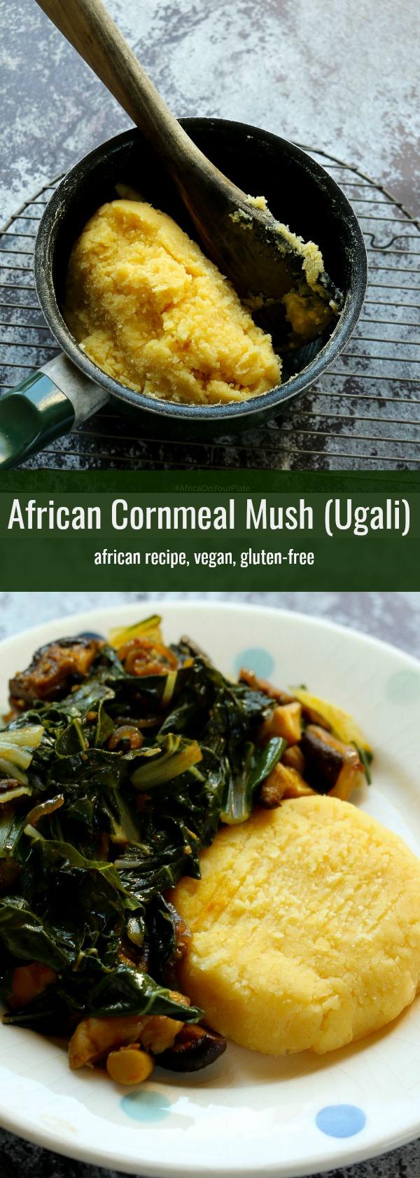 african cornmeal mush (ugali)