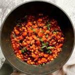 Vegan Ethiopian Chickpea (Garbanzo Beans) Chilli Recipe