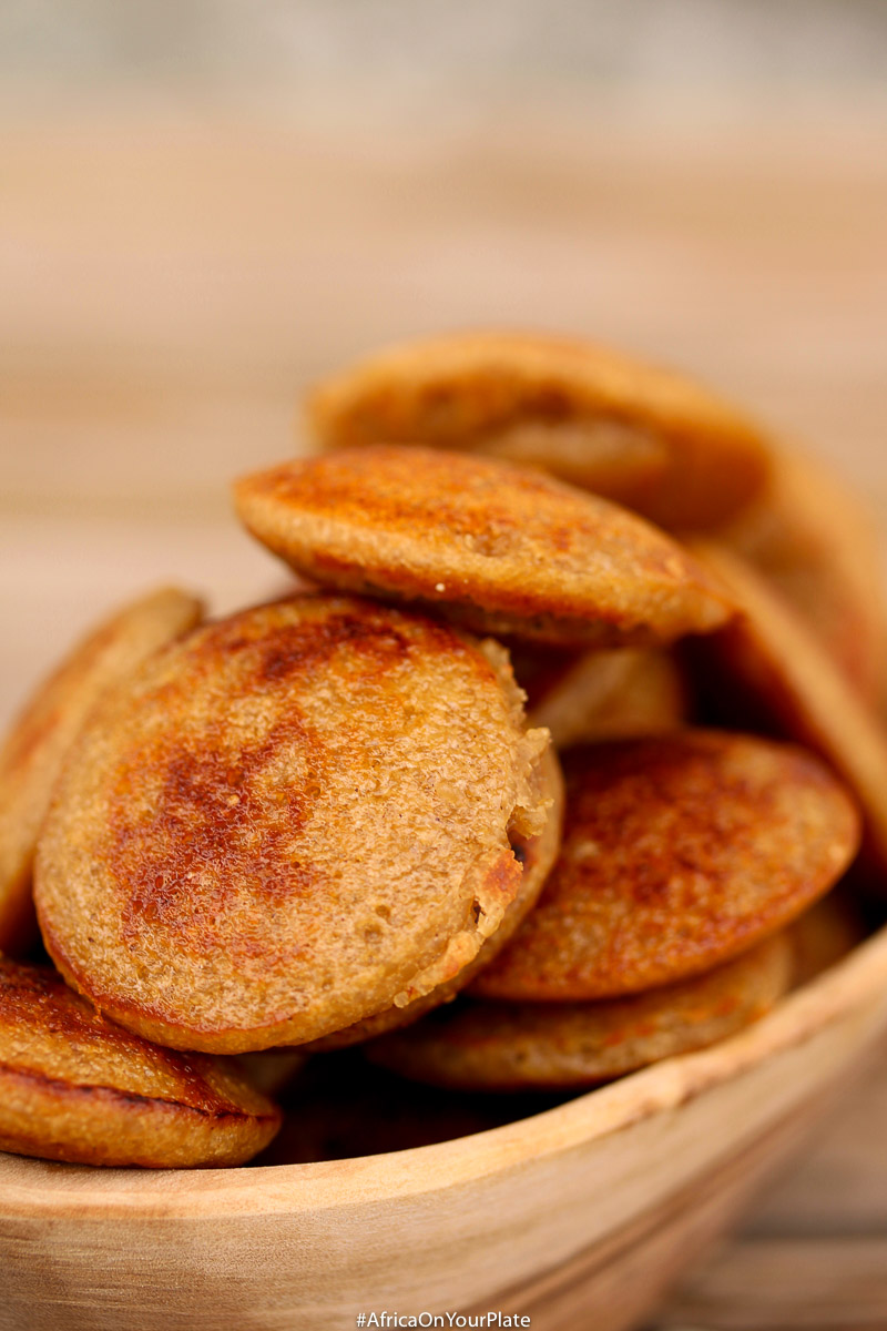 These Coconut Rice Pancakes (Hausa Masa) are a delicious twist on the Nigerian Hausa Masa with a slightly crusty exterior and a light fluffyinterior. Serve with some maple or date syrup for a vegan and gluten free breakfast or snack idea.