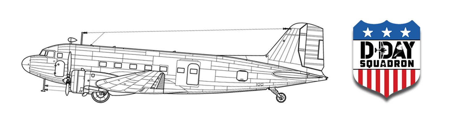 c47-dc-3-frame-dday-squadron-shield