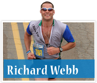 athlete Richard Webb