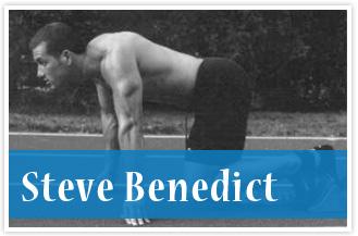athlete Steve Benedict