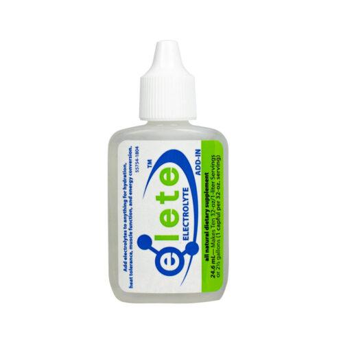 elete electrolyte Add-In pocket-bottle front