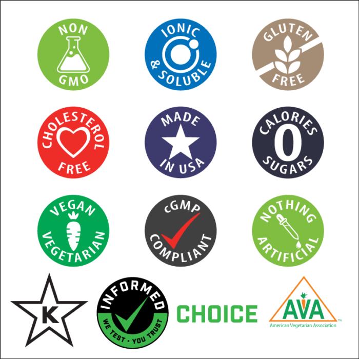 elete nutritional icons