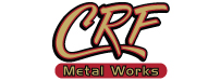 CRF METAL WORKS Logo
