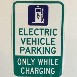 EV Parking Only Signs