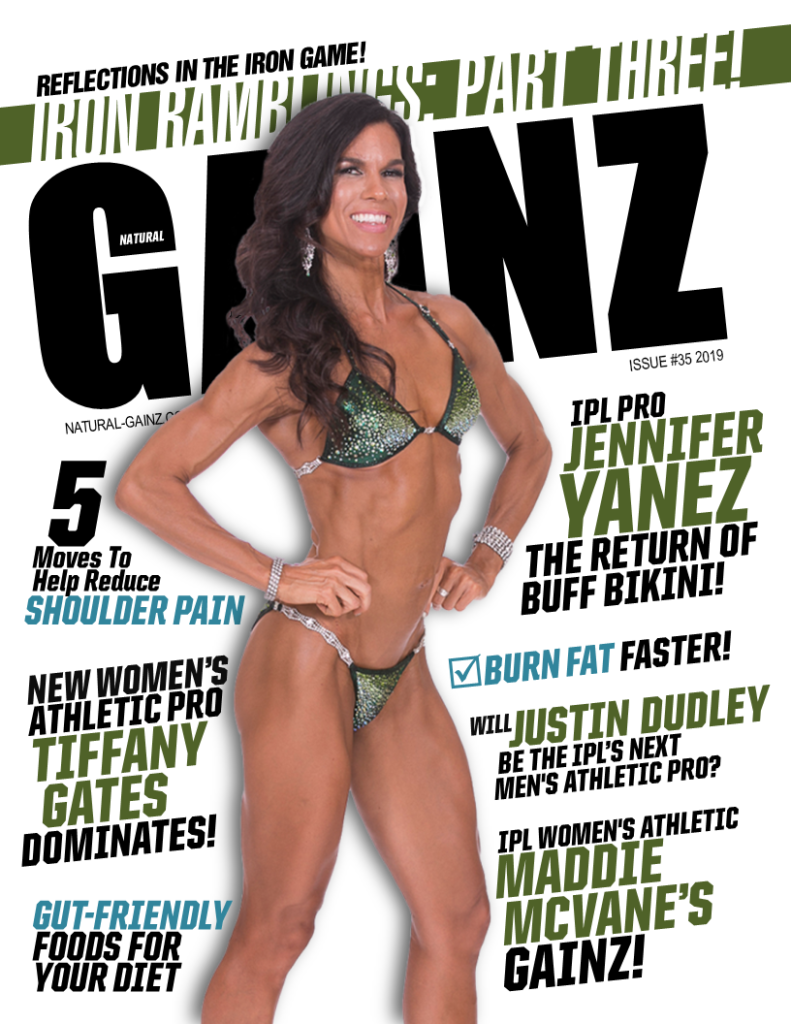 NATURAL GAINZ ISSUE #35 COVER!