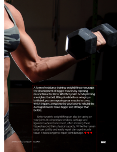 PROTECT YOUR JOINTS FROM INJURY WHEN LIFTING HEAVY
