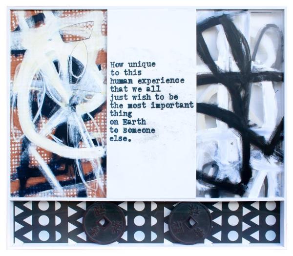 1000 Kisses   Wood, Plexiglass, Acrylic, Photography   61X75