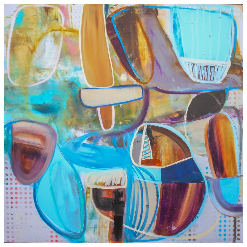 Untitled II | Acrylic on canvas | 72x72