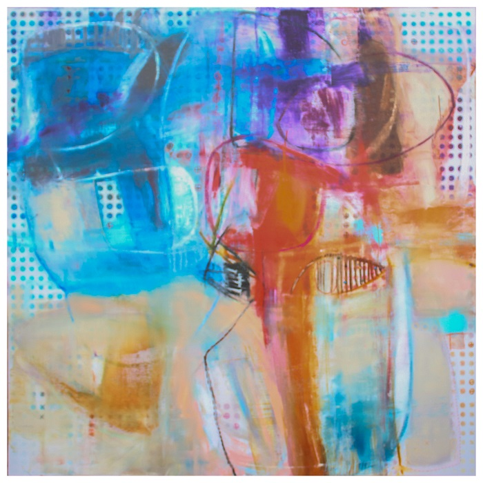 Untitled III   Acrylic on canvas   60x60