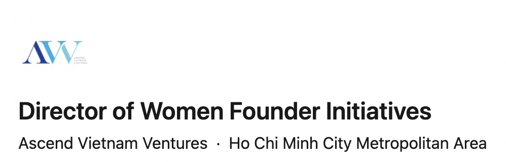 Apply to the Director of Women Founder Initiatives job
