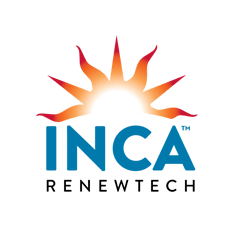 INCA logo glow