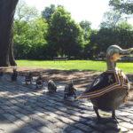 Public Garden-Beacon Hill-Boston, MA-Make Way For Ducklings