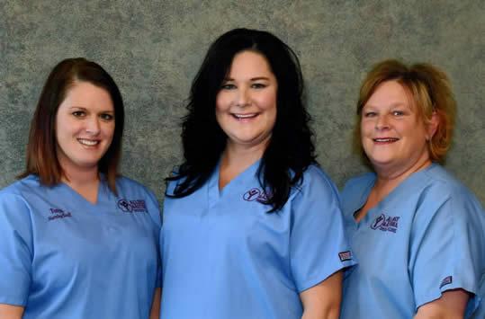 Tonya, Heather and Lisa