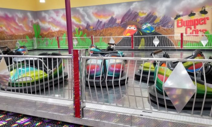 Bumper Cars Pecanland Mall