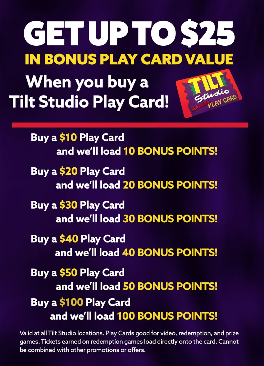 Tilt Studio Play Cards