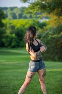 Outdoor Athletic Model
