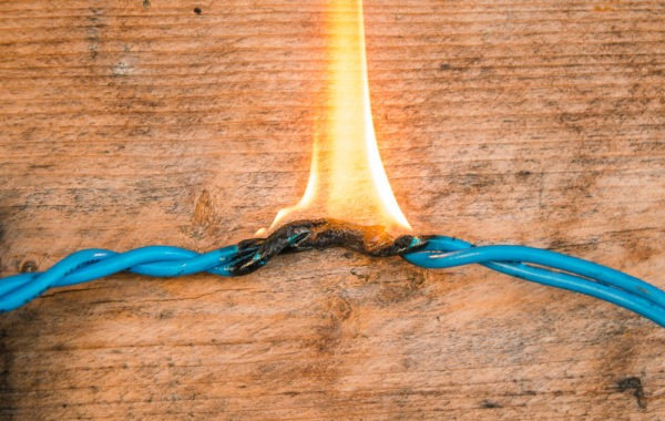 Defective Products – Burning Wire