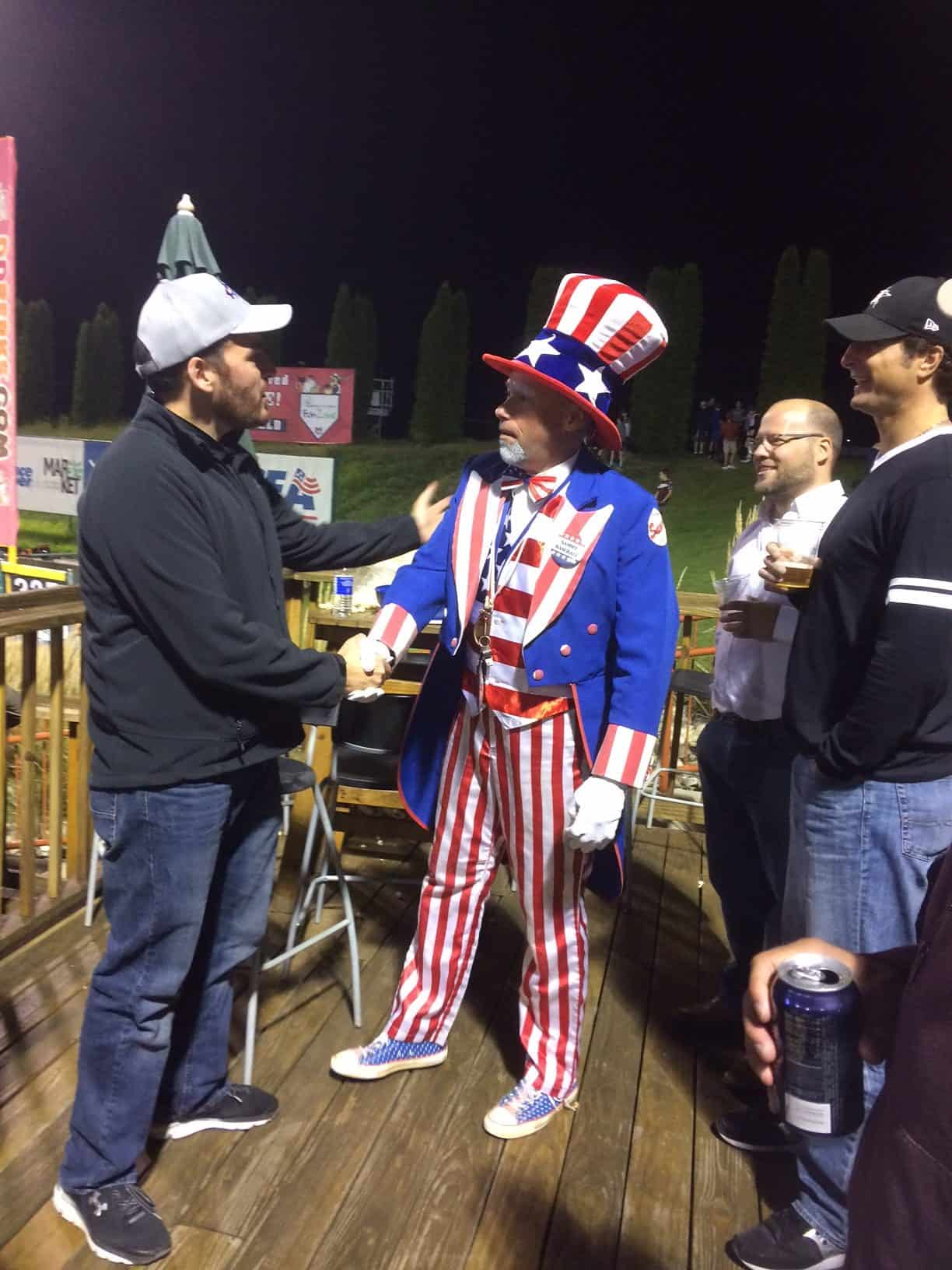 8/31/17: Alliance Team Enjoys Tri-City Valley Cats Baseball Game