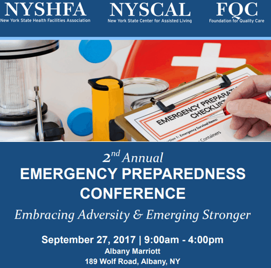 Alliance CEO a panelist at 9/27/17 Emergency Preparedness Conference