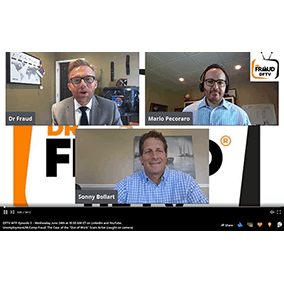 Alliance Risk Group interviewed by Dr. Fraud!