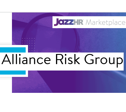 Alliance Risk Group Partners with JazzHR