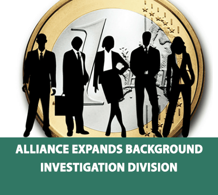Alliance Adds 2 Employees to the Background Investigation Division