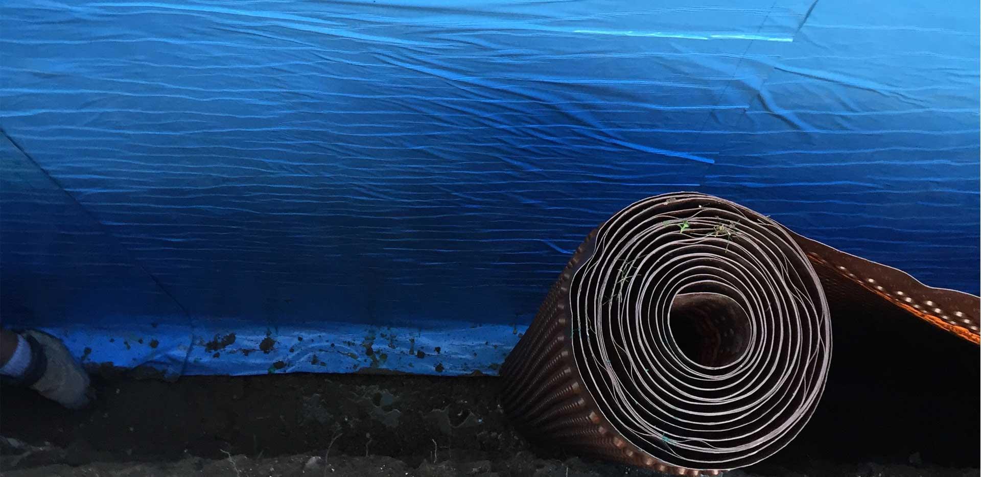 underpinning basement waterproofing