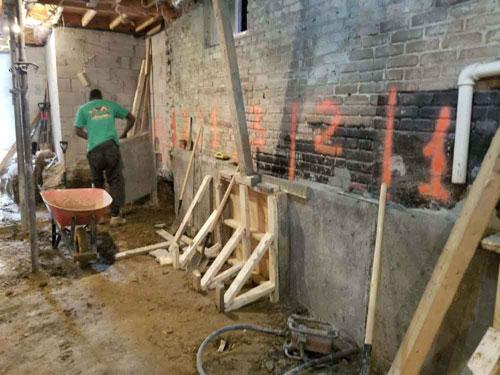 underpinning basement toronto